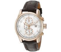 Herren- Armbanduhr Chronograph Quarz SC03 10