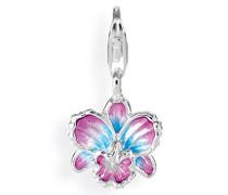 Charm Blüte Orchidee 925 Sterlingsilber HB 328