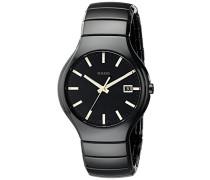 Armbanduhr XL Analog Quarz Keramik 115.0653.3.006