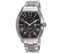Collection Armbanduhr hector black Analog Quarz Edelstahl EL101081F06