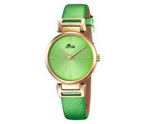 Damen-Armbanduhr Analog Quarz Leder 18228/1
