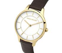 Damen-Armbanduhr Analog Quarz KM133TG