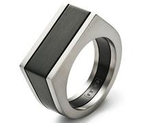 Herren-Ring Edelstahl schwarz