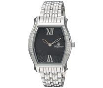 Armbanduhr für mit Analog Anzeige, Quarz-Uhr mit Edelstahl Armband - Wasserdichte Damenuhr mit zeitlosem, schickem Design - klassische