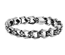 Herren-Charm-Armband Edelstahl PJ25697BSS.01-L