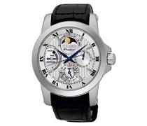 Armbanduhr Analog Handaufzug Leder SRX011P2