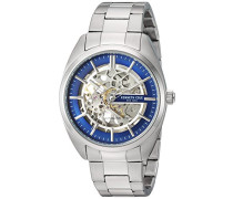 Analog Automatik Uhr mit Edelstahl Armband KC50064003