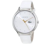 Datum klassisch Quarz Uhr mit Leder Armband 2001005