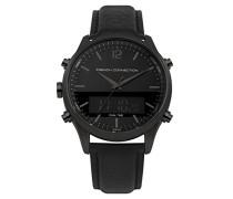 Digital Quarz Uhr mit Leder Armband FC1311BB