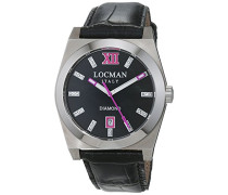 Datum klassisch Quarz Uhr mit Leder Armband 20300MKDFFXPSK
