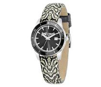 Armbanduhr JUST IN TIME Analog Quarz Leder R7251202504