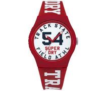 Kinder Analog Quarz Uhr mit Silikon Armband SYG182WR