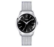 Armbanduhr Edgware Analog Quarz Edelstahl HL39-M-0015