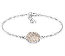 Armband Kreis Geo 925 Sterling Silber Swarovski Kristalle 0211271317_16