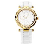 Armbanduhr Analog Quarz Premium Keramik Diamanten - STM15R7