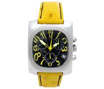 Herren-Armbanduhr Analog Quarz Leder 0287SGG