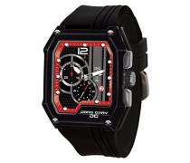Armbanduhr Chronograph Quarz Kautschuk JG7100-23