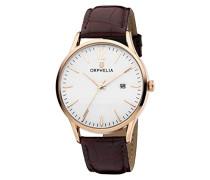 -Armbanduhr Modern Classic Analog Quarz Leder Uhr Edelstahl Damenuhr Herrenuhr Wasserdicht Ultra-shone Klassik