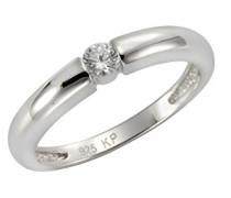 Verlobungsringe 925_Sterling_Silber zirkonia '- Ringgröße 60 (19.1) 360271398-1-060