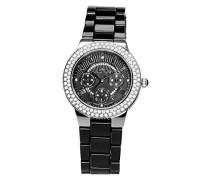 Armbanduhr Analog Quarz Premium Keramik Diamanten - STM15S4