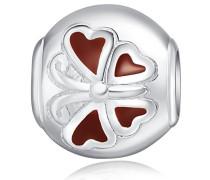 Bead 925 Silber rhodiniert Emaille - 60177019