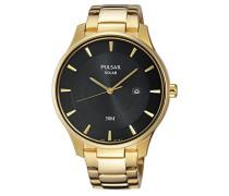 Analog Quarz Uhr mit Edelstahl beschichtet Armband PX3102X1