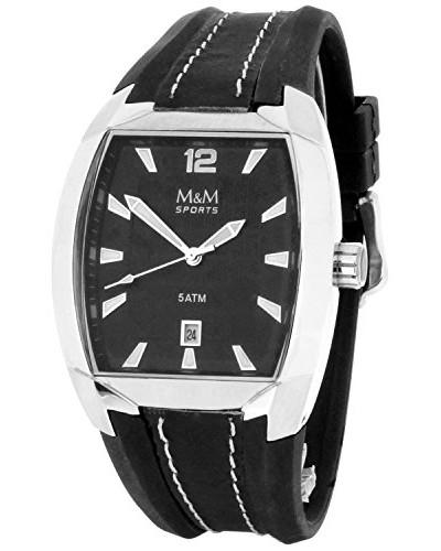 Armbanduhr Analog Quarz Kautschuk M11680-645