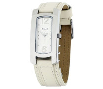 Damen-Armbanduhr Analog Quarz Leder M11300-741
