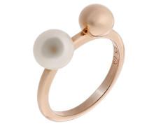 Mädchen-Ringe 925_Sterling_Silber mit Rund Perle '- Ringgröße 52 (16.6) zr-7373/52 RG