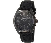 Analog Quarz Uhr mit Stoff Armband H68401735