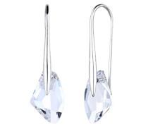 Ohrhänger Glamour Luxuriös Elegant silber 925 Swarovski Kristall weiß 0309212914