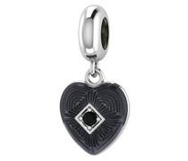 Endless Charm Big Heart schwarz Schmuck 3350–1