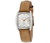 Damen Armbanduhr Analog Quarz Leder H12351855