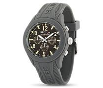 Sektor R3251576002 – Herrenuhr Quarz, mit Silikon-Armband