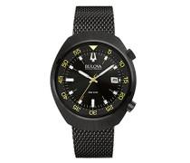 unisex-Armbanduhr Lobster Analog Quarz Edelstahl beschichtet 98B247
