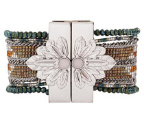 Damen-Manschetten Armbänder Edelstahl E18SETERKA