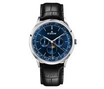 Analog Quarz Uhr mit Leder Armband 40101-3C-BUIN