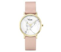 Erwachsene Digital Quarz Uhr mit Leder Armband CL40101