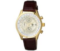 Armbanduhr Navigator Gold Chronograph Quarz NavGD