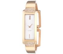 Armbanduhr Analog Quarz Edelstahl beschichtet JP101462004