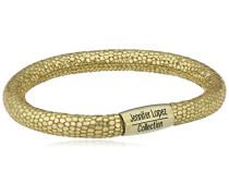Armband JLo Reptil Edelstahl teilvergoldet Leder 20.0 cm - 1051-20