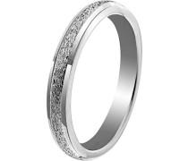 -Einfache Hochzeits-Band 925-Sterling Silber Ringgröße 52 (16.6) OR9994/52