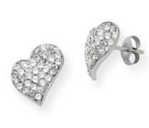 Joy Damen-Ohrringe rhodiniert und Zirkonia JOP005E