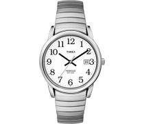 Herren-Armbanduhr Weiß Analog Edelstahl T2H451D7