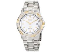 Datum klassisch Quarz Uhr mit Edelstahl Armband SGD026J