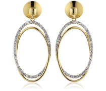 Collection Antheia Ohrringe Silber vergoldet Gelbgold mit Zirkonia ELER92944B000