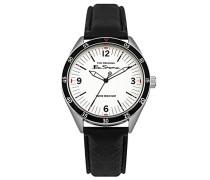 Datum klassisch Quarz Uhr mit PU Armband BS007WB