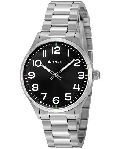 Analog Quarz Uhr mit Edelstahl Armband P10064