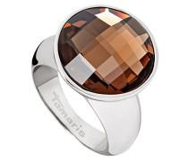 Damen Ring, Edelstahl, Glas, 54 (17.2), A03510093