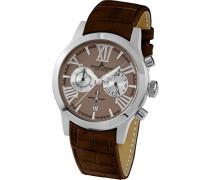 Damen-Armbanduhr Porto Analog Quarz Leder 1-1809C